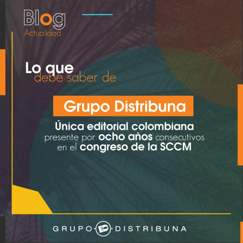 Grupo distribuna en congreso SCCM
